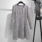 Plain Knit Dress 1596