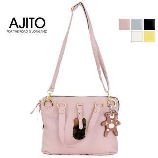 Buy AJITO Faux-Leather Tote 1022399681