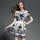 Short-Sleeve Embroidered Dress от YesStyle.com INT