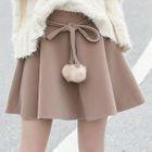 Bobble Ruffle Mini Skirt 1596