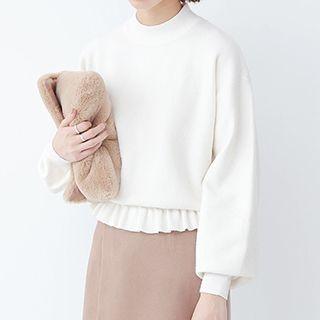 Ruffle Hem Sweater 1050815173