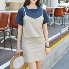Square-Neck Short-Sleeve T-Shirt от YesStyle.com INT
