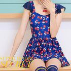 Cherry Print Swimdress 1596