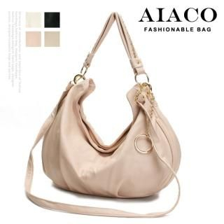 Picture of AIACO Faux-Leather Hobo 1022725469 (AIACO, Hobo Bags, Korea Bags, Womens Bags, Womens Hobo Bags)