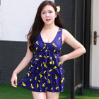 Printed Swimsuit + Shorts 1596