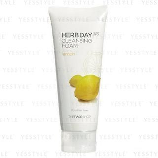 Herb Day Cleansing Cleansing Foam (Lemon) (Purifying)