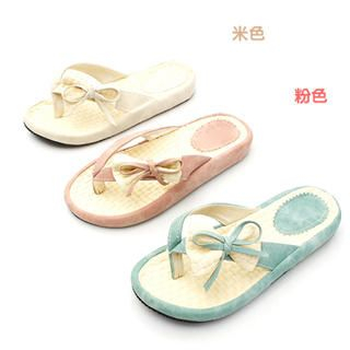 Buy KAWO Bow-Accent Flip-Flops 1022918419