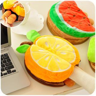 Fruit USB Hand Warmer Mouse Pad