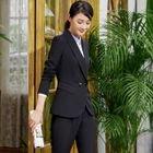 Blazer / Pencil Mini Skirt / Dress Pants / Shirt / Set 1596