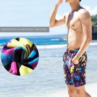Image of Camo Swimming Trunks