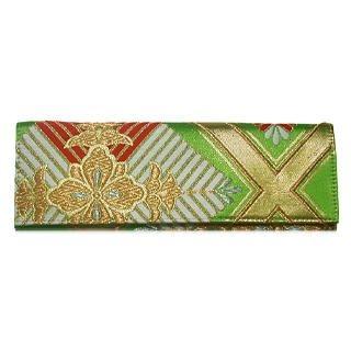 Picture of Liucia Japan Midori Leaf .1 Wristlet Obi Clutch 1021479039 (Liucia Japan, Clutches, Hongkong Bags, Womens Bags, Womens Clutches)