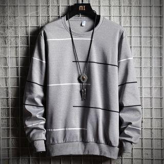 Image of Contrast Detail Sweatshirt