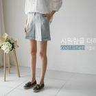 Linen Blend Shorts 1596
