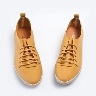 Faux-Suede Lace-Up Sneakers