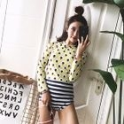 Printed Long-Sleeve Swimsuit 1596