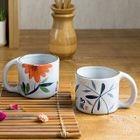 Floral Ceramic Cup 1596