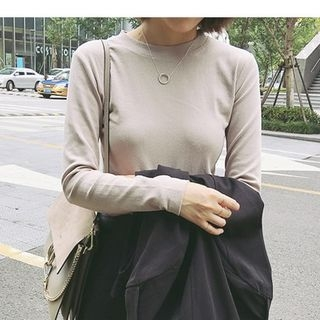 Ribbed Long-Sleeve T-shirt 1057853703