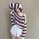 Striped Drop Shoulder Sweater от YesStyle.com INT