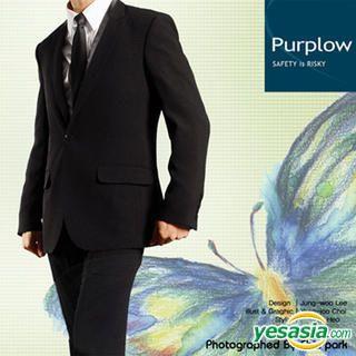Buy Purplow Narrow Lapel One Button Blazer 1004720228