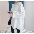 Dip-Back Pullover Dress 1596