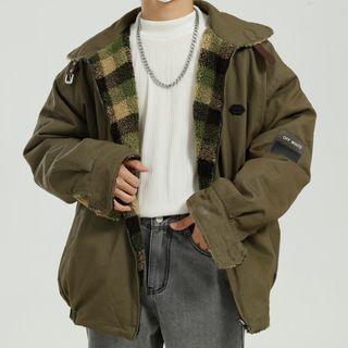 Reversible Fleece Zip Jacket
