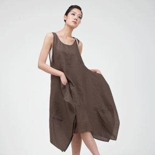 Buy Catherine Marie Sleeveless Linen Dress 1023005094