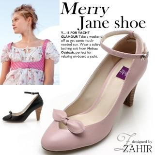 Buy ZAHIR Ankle Strap Bow Front Pumps 1022065272