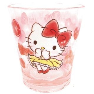Hello Kitty Plastic Clear Cup (Pink) 1059972254