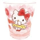 Hello Kitty Plastic Clear Cup (Pink) 1596