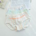 Set of 3: Striped Panties 1596