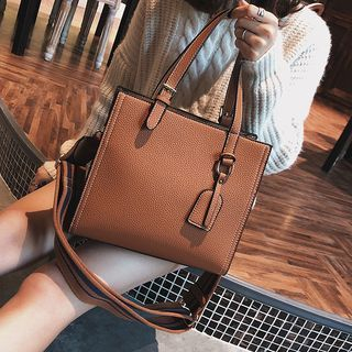 Faux Leather Tote Bag 1063564411