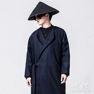 Tie-Front Coat