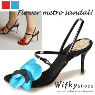 Buy Wifky Rosette Accent Sandals 1022916529