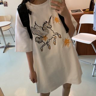 Unicorn   T-Shirt   Print