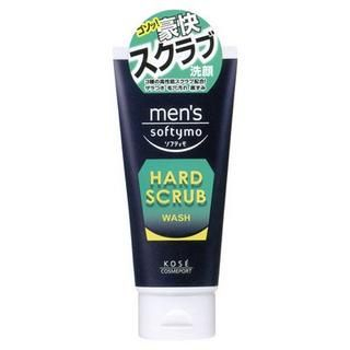 Picture of Kose - Softymo Men's Hard Scrub Wash (Green) 130g (Kose, Skincare, Face Care for Men, Mens Scrubs & Masks)