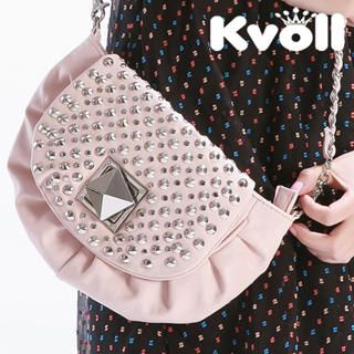 Buy Kvoll Studded Shirred Flap Cross Bag 1022905454