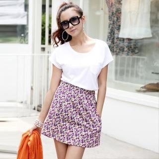Buy With Mocha Mock Two Piece Dress 1022949849