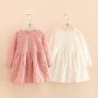 Kids Lace Long-Sleeve Dress 1596