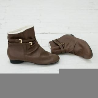 Picture of Cookie 7 Faux-Leather Ankle Boots 1021977891 (Boots, Cookie 7 Shoes, Korea Shoes, Womens Shoes, Womens Boots)