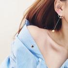 Metal Ball Drop Earrings 1596