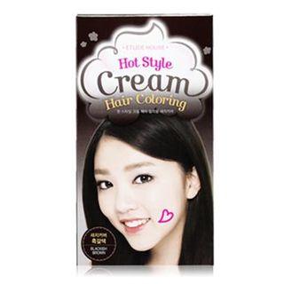 Etude House - Hot Style Cream Hair Coloring (#4 Dark Brown) 1set 1038886313