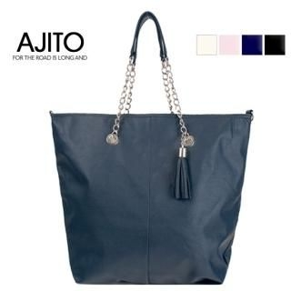 Buy AJITO Tassel Accent Shoulder Bag 1022657204