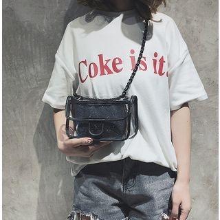 Set: Transparent Handbag + Pouch 1066576412