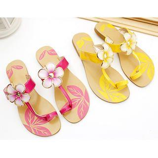 Buy KAWO Corsage Printed Sandals 1022786739