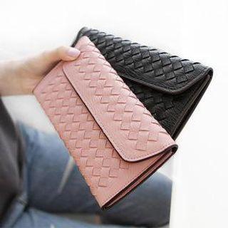 woven-long-wallet