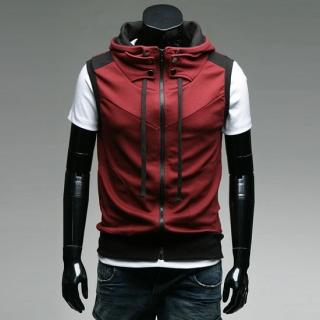Buy Style YOURS Funnel Neck Hooded Vest 1022569194