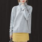 Turtleneck Drop Shoulder Sweater 1596