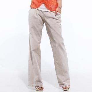 Buy Secret;BB Drawstring Waist Linen Pants 1022577652