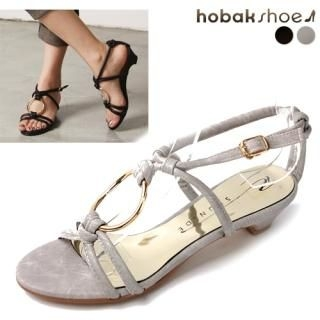 Buy HOBAK girls Metal-Loop Sandals 1022899445