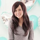 Long Full Wig - Wavy Coffee - One Size от YesStyle.com INT